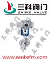 ZAJV電子式電動V型調節球閥價格