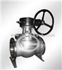QA347Y纯碱O型球阀|一体式固定球阀|法兰球阀